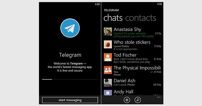 Download Telegram for Nokia